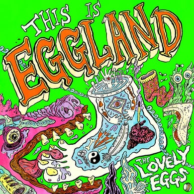 The Lovely Eggs 'This Is Eggland' Vinyl Record