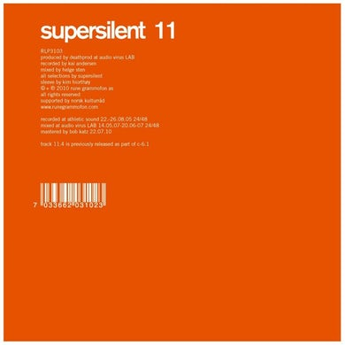 Supersilent '11' Vinyl Record