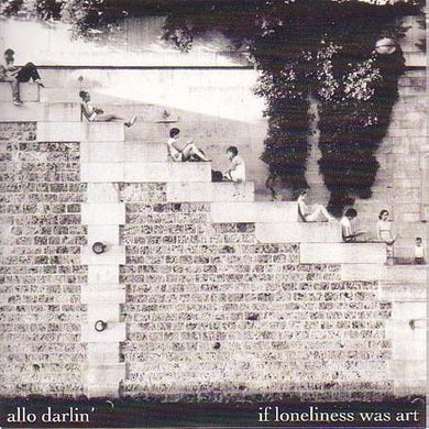 "Allo Darlin' 'If Lonliness Was Art' Vinyl 7"" Vinyl Record"