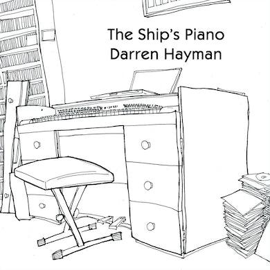 Darren Hayman 'The Ship`s Piano' Vinyl Record
