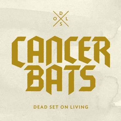 Cancer Bats 'Dead Set On Living' Vinyl LP - Grey Vinyl Record
