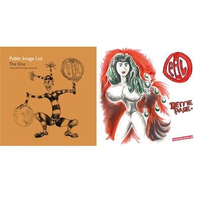 "Public Image Ltd 'The One / Bettie Page' 2x7"" Set Vinyl Record"