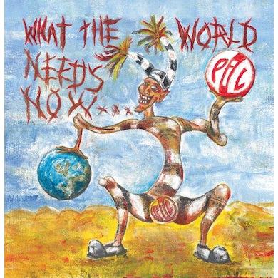 Public Image Ltd (PiL) 'What The World Needs Now...' Vinyl 2xLP - Blue Vinyl Record