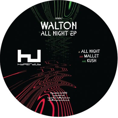 Walton 'All Night EP' Vinyl Record