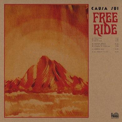 Causa Sui 'Free Ride' Vinyl 2xLP + Download Card Vinyl Record