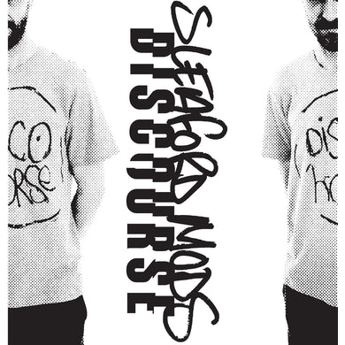 "Sleaford Mods 'Discourse' Vinyl 7"" Transparent Orange /Mono Cover /Smarmy Version Vinyl Record"