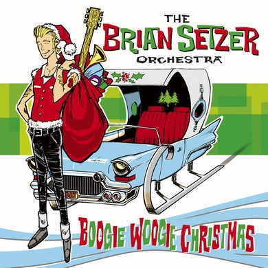 The Brian Setzer Orchestra 'Boogie Woogie Christmas' Vinyl Record
