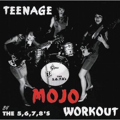 The 5.6.7.8's 'Teenage Mojo Workout' CD Vinyl Record
