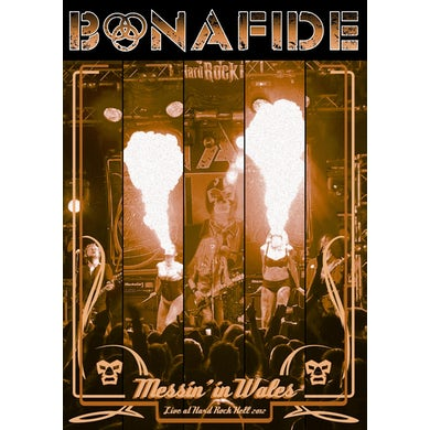 Bonafide 'Messin' in Wales Live at Hard Rock Hell 2012'