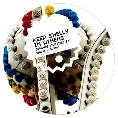 Keep Shelly In Athens 'Campus Martius' Vinyl Record