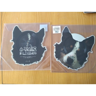 """Ginger Wildheart 'I Wanna Be Yours / No Regrets' Vinyl 7"""" - Shaped Picture Disc Vinyl Record"""