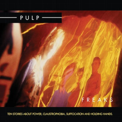 Pulp 'Freaks (2012 Re-Issue)' Vinyl Record