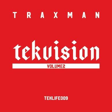 Tekvision Vol.2' Vinyl LP Vinyl Record