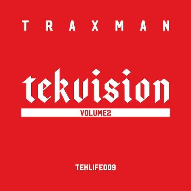 Traxman 'Tekvision Vol.2' Vinyl LP Vinyl Record