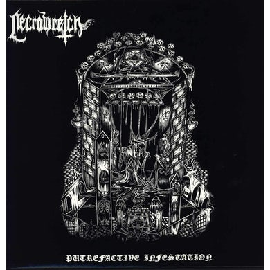 "Necrowretch 'Putrefactive Infestation' Vinyl 12"" - White Vinyl Record"