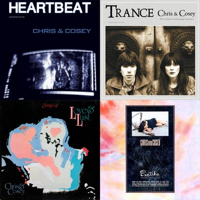 'Trance/Heartbeat/Songs Of Love And Lust/ Exotika' 4LP Bundle Vinyl Record