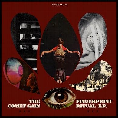 "Comet Gain 'Fingerprint Ritual' Vinyl 12"" - Red Vinyl Record"