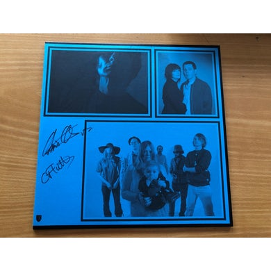 'Shot Ring' Vinyl LP Signed By Chris & Cosey Vinyl Record