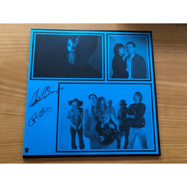 Excepter 'Shot Ring' Vinyl LP Signed By Chris & Cosey Vinyl Record
