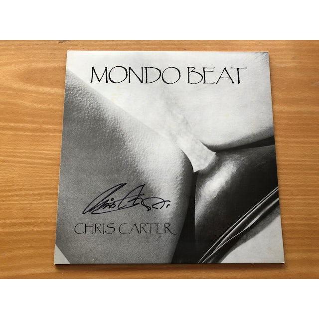 Chris Carter 'Mondo Beat' Vinyl LP - Signed by Chris Carter Vinyl Record