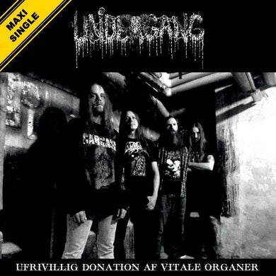 Undergang 'Ufrivillig Donation Af Vitale Organer' Vinyl LP Vinyl Record