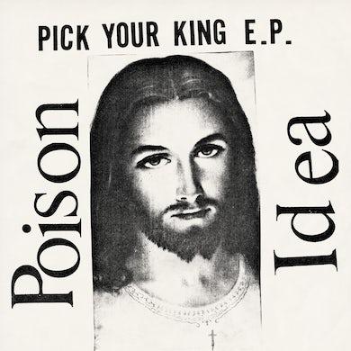 Poison Idea 'Pick Your King' Vinyl LP - Clear Vinyl Record