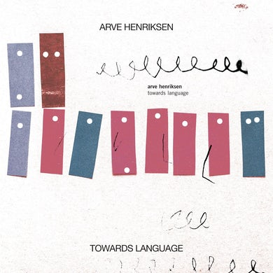 Arve Henriksen 'Towards Language' Vinyl Record