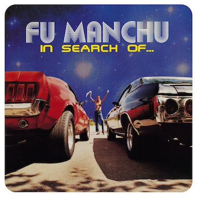 """Fu Manchu 'In Search Of... Deluxe Edition' Vinyl LP - Clear/Blue/Yellow Splatter + 7"""" Red/Black Vinyl Record"""