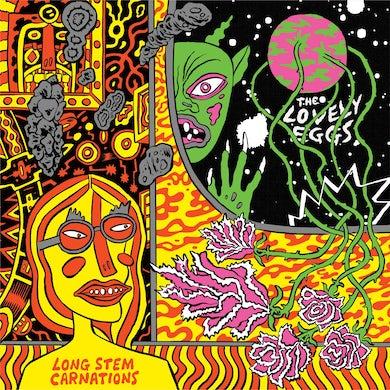 """The Lovely Eggs 'Long Stem Carnations' Vinyl 7"""" PRE-ORDER Vinyl Record"""