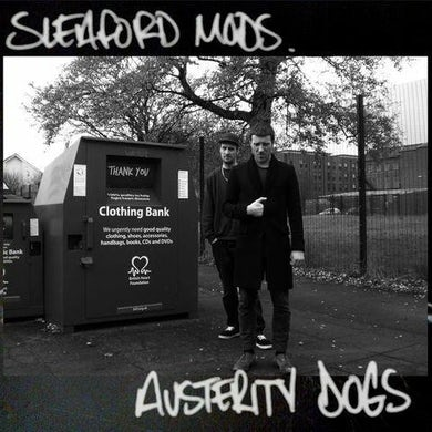 Sleaford Mods 'Austerity Dogs' Vinyl LP - Neon Yellow Vinyl Record