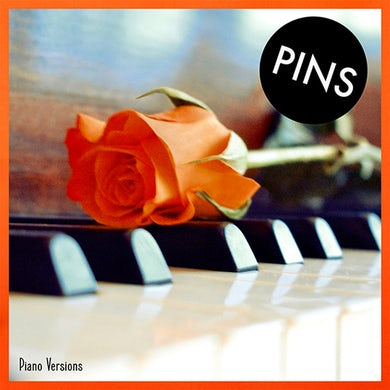'Piano Versions' Vinyl LP Orange Splatter Vinyl Record