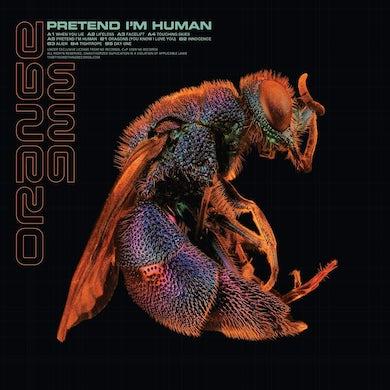 'Pretend I'm Human' Vinyl LP - Orange/Black Smoke PRE-ORDER Vinyl Record