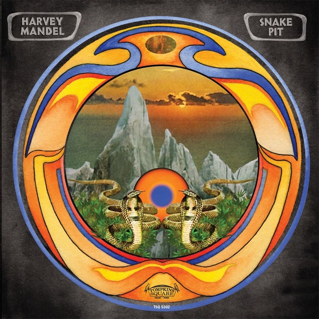 Harvey Mandel 'Snakepit' Vinyl Record