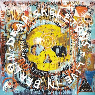 Dead Skeletons 'Live In Berlin' Vinyl 2xLP - White/Red/Black/Splatter with Silkscreened D Side Vinyl Record