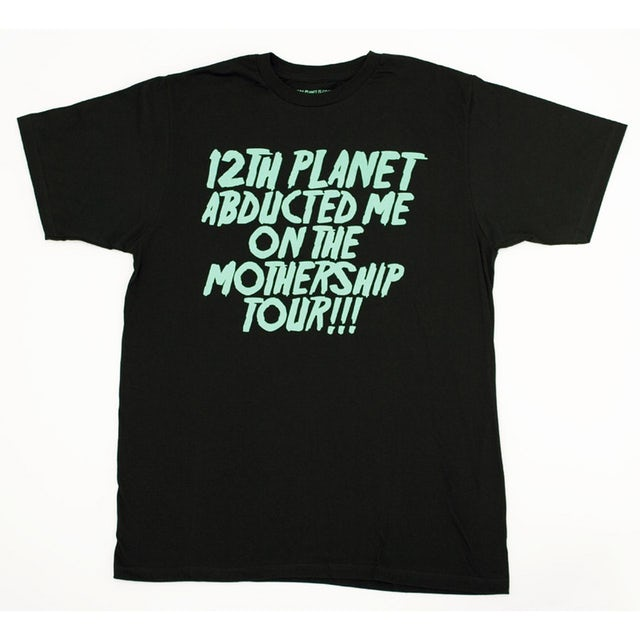 12th Planet Mothership Tour Shirt