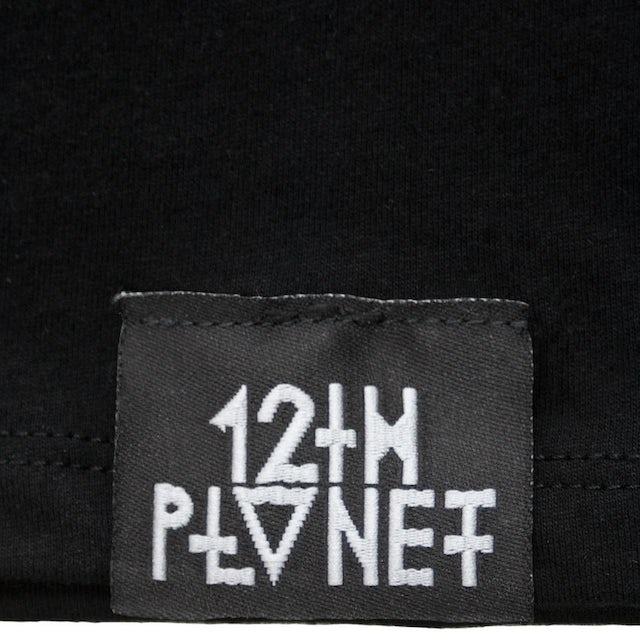 12th Planet Platinum Foil Logo Tee
