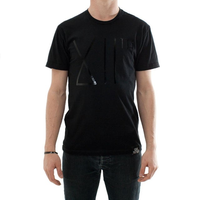 12th Planet XIIth Black Foil Logo Tee