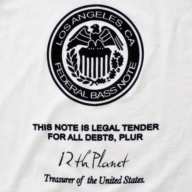 12th Planet Federal Bass Note Baseball Tee