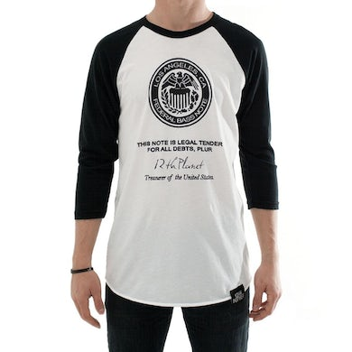 12th Planet Federal Bass Note Baseball Tee