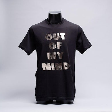 Bingo Players Silver Foil Out Of My Mind Tee