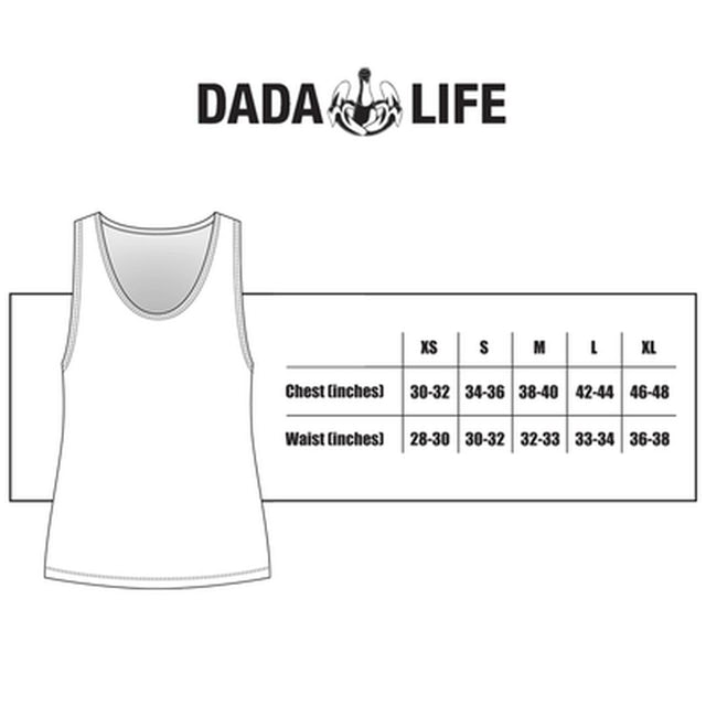 Dada Life USA BORN TO RAGE TANK TOP