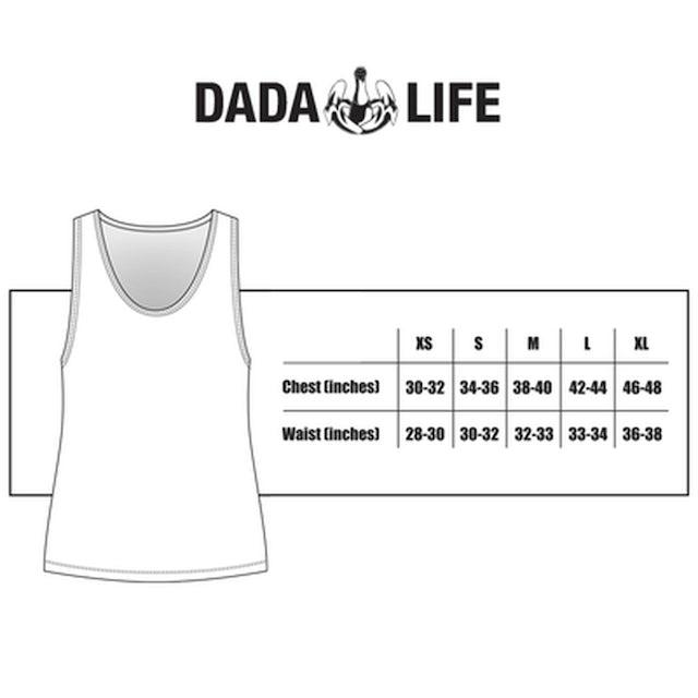 Dada Life BORN TO RAGE NEON TANK TOP