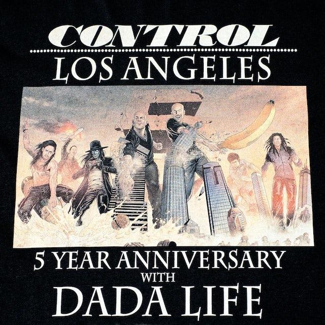 LIMITED EDITION DADA LIFE x CONTROL 5 YEAR ANNIVERSARY TEE