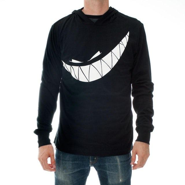 Feed Me Hooded Shirt // Teeth