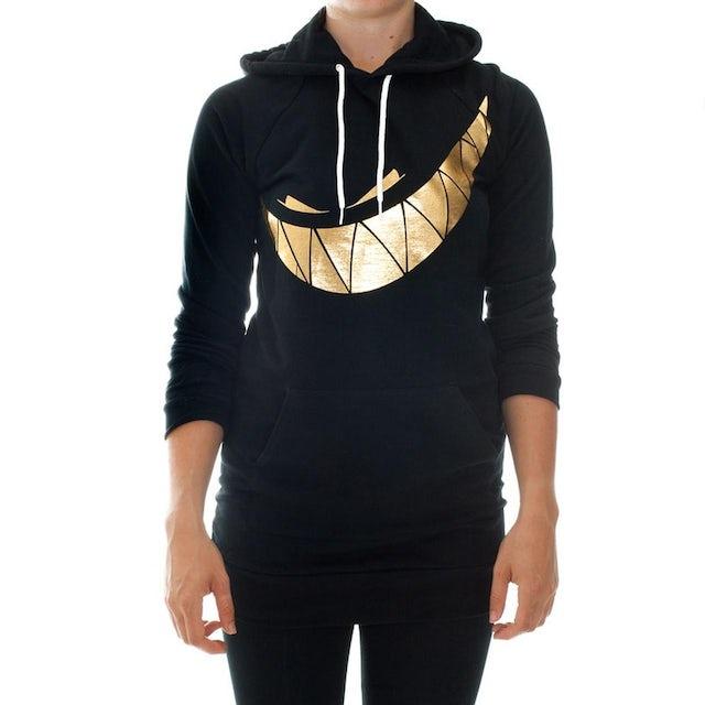 Girl's Feed Me Hoodie // Gold Teeth