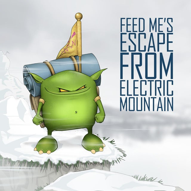 Feed Me Fine Art Print // Electric Mountain
