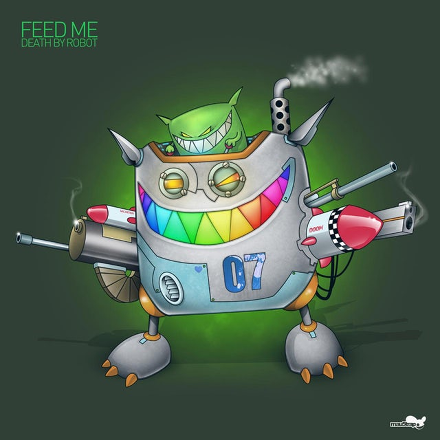 Feed Me Fine Art Print // Death by Robot