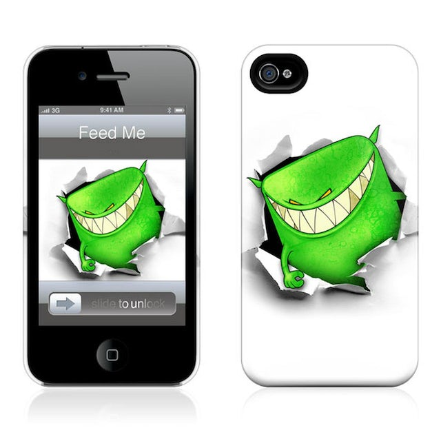 Feed Me iPhone Case // White