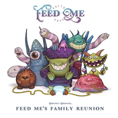 Feed Me // Family Reunion Art Print