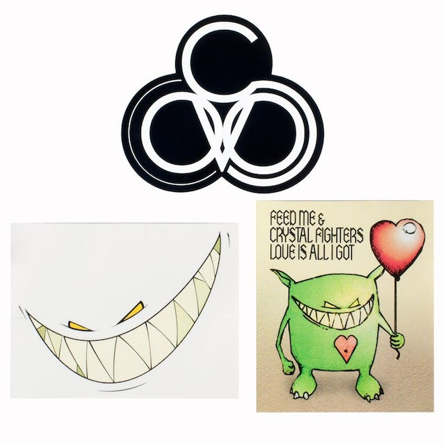 Feed Me Sticker Pack